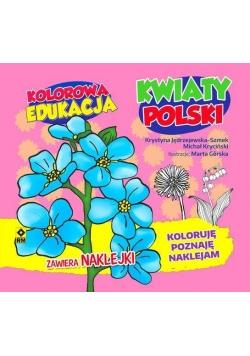 Kolorowa edukacja - Kwiaty Polski