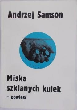 Miska szklanych kulek - powieść
