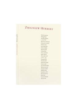 Wiersze Zbigniew Herbert 2900 Zł Tezeuszpl