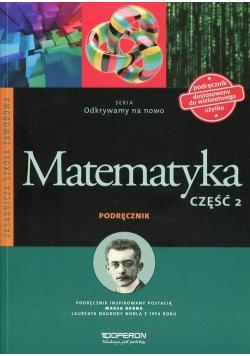 Odkrywamy na nowo Matematyka Podręcznik Część 2