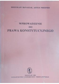 Wprowadzenie do prawa konstytucyjnego