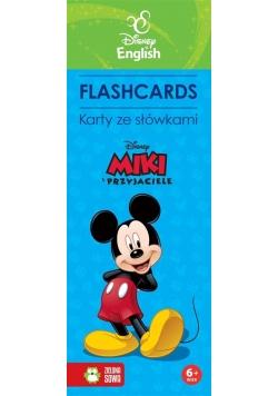 Flashcards. Karty ze słówkami. Miki i przyjaciele