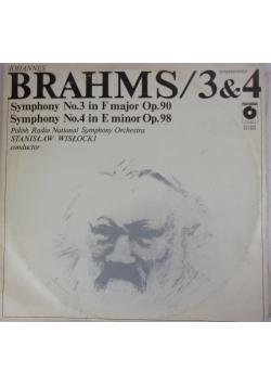 3&4 Symphonies, płyty winylowe