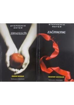 Zmierzch / Zaćmienie zestaw 2 książek
