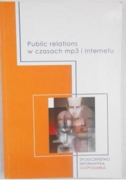 Public relations w czasach mp3 i Internetu