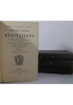 Meditations, Tom I-IV, 1882 r.