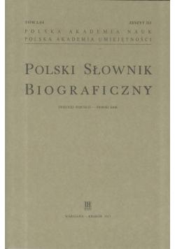 Polski Słownik Biograficzny z.211 T.51/4