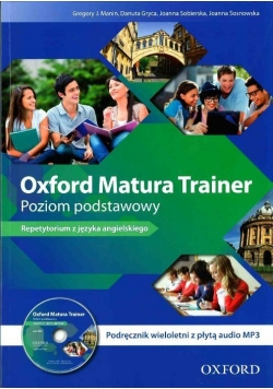 Oxford Matura Trainer ZP podr wieloletni + mp3