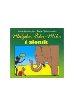 Harmonijka - Małpka Fiki- Miki i słonik