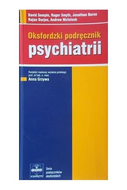podręcznik psychiatrii