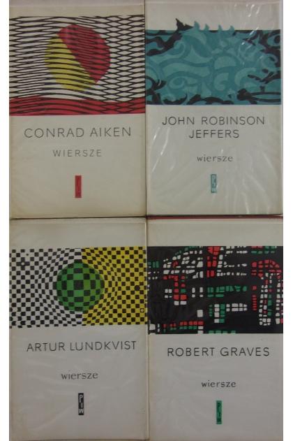 Wiersze Zestaw 4 Książek Robert Graves Artur Lundkvist